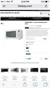 1.6 cu ft Panasonic microwave Campbell River Comox Valley Area image 2