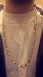 10K Gold Chain (Cuban square) $600 or nearest offer