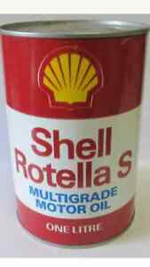 Vintage Shell Canada Rotella S motor oil for sale A062