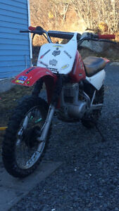 looking to trade my 2000 honda xr80r for atv