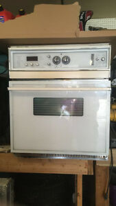 GE Profile Glass Cooktop and Built in Convection Oven