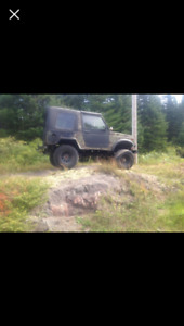 1992 suzuki samarai 4x4 with plow