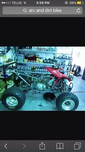 Looking for Atv or dirt bike 500$ or under