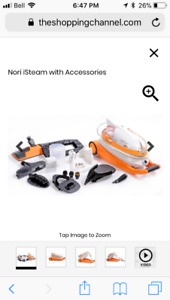 Nori isteam with accessories