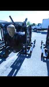 Max football sled/ crossfit/mma