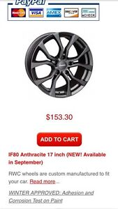 Brand new wheels for Nissan Maxima