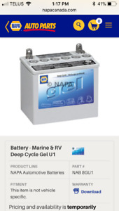 Looking for deep cycle batteries