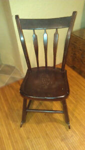 Handcrafted Rocking Chair