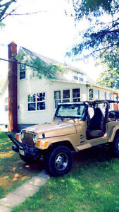 2000 Jeep TJ Sahara Coupe (2 door)