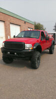 Lifted 2003 Ford F-350 Lariat