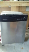"""Frigidaire 24"""" Built-in stainless steel dishwasher"""