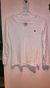 Small Lacoste 3/4 T-Shirt