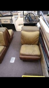 Pair of Boat Seats back to back