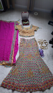 Indian bridal/special occasion lengha