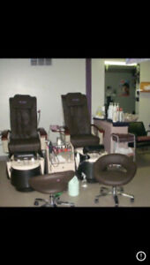 Like brand new pedicure chairs for sale