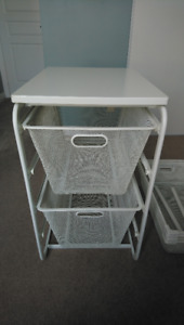IKEA - ALGOT - Frame, Top, 2 Deep Mesh Baskets (drawers)