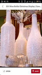 Need free wine bottles for craft project.