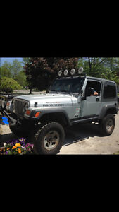 2005 Jeep Rubicon Trail and Road Ready Standard Vehicle