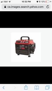 Trade new 950watt generator for 5 galion or bigger air compresso