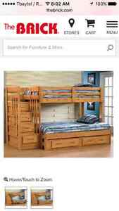 Looking for bunk bed twin/over double