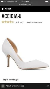 Women's white pumps - (Aldo) Aceidia-U