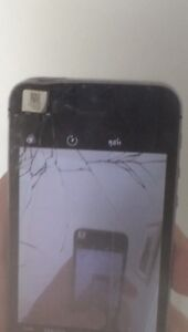 iPhone 5S works great! Damaged screen.