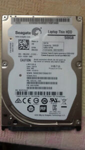 500GB drive for laptop
