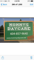 Mommy's Daycare Infant and Toddler center Aldergrove