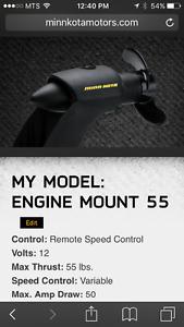 Minn Kota motor mount trolling motor