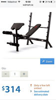 Bench press olympique  marcy diamond elite capacité 700 lbs