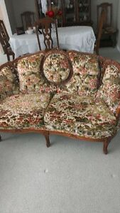 Mint Original Victorian Style Couch Set