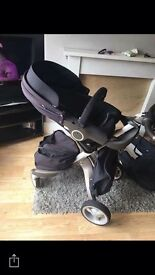Stoke v3 cosytoes , summerkit and carry cot