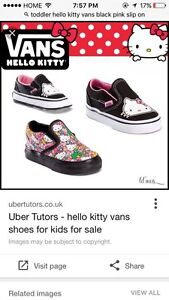 Toddler hello kitty vans