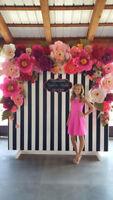 Kate Spade Flower Wall