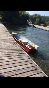 14 ft Boat with Trailer