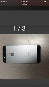 32GB IPHONE 5S GREAT CONDITION NEED GONE!!