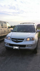 2006 Acura MDX SUV Silver & Black Leather  (Clea and Reliable) London Ontario image 5