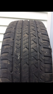 Two 225/45R17 Goodyear Eagle Sport M+S