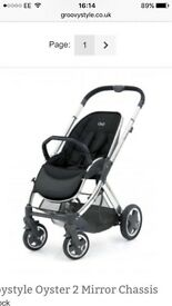 Babystyle Oyster 2 Mirror Chassis pushchair