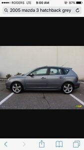 MUST SELL 2005 Mazda 3 As Is