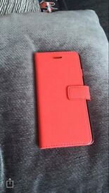 Iphone 6 phone leather red case JUST REDUCED!!