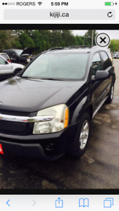 Chevrolet Chevy Equinox 2006 AWD LT Only 186k KM Saftied