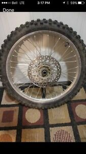 04 CRF 250/450 Front Wheel