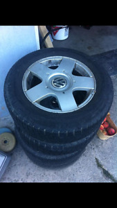 VW RIMS AND TIRES CHEAP
