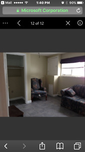 Available May first 1 bedroom apartment