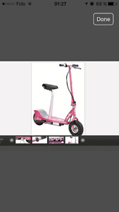 SCOOTER RAZOR E300S NEW PINK COLOR