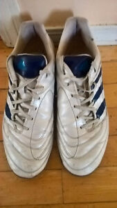 Adidas Men Soccer Shoes Leather Size 9.5
