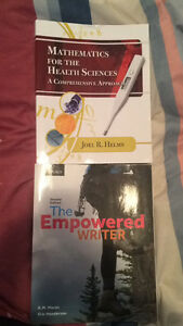 3 Pre-Health Sciences Text books
