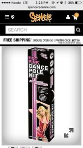 Hot Pink Dance Pole