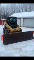 Snow clearing (yard or lot)